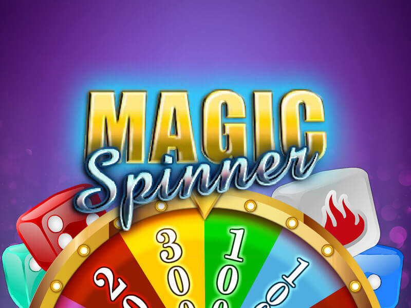 game tile magic spinner
